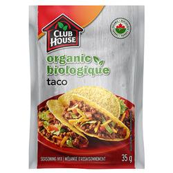 Club House Organic Taco Seasoning Mix