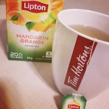 Lipton Mandarin Orange Green Tea