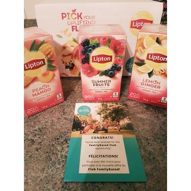 Lipton Peach Mango Herbal Tea