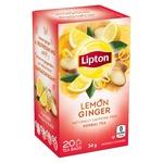 Lipton Lemon Ginger Herbal Tea
