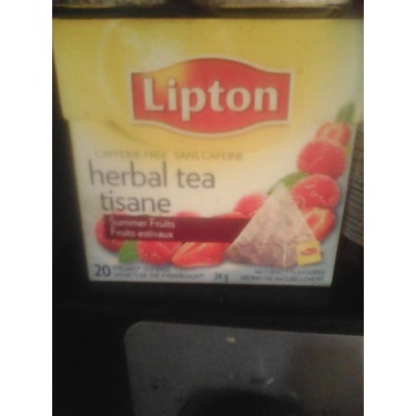 Lipton Summer Fruits Herbal Tea