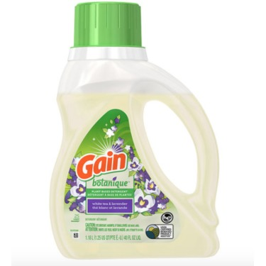 Gain Botanique Laundry Detergent - White Tea & Lavender