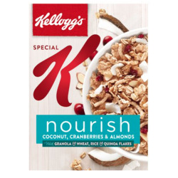 Kellogg's Special K Nourish Coconut, Cranberries & Almonds
