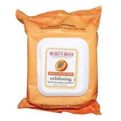 Burt's Bees - Facial Cleansing Towelettes Exfoliating Peach & Willow Bark