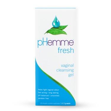 PHemme vaginal gel cleansing
