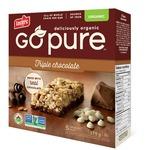 Leclerc Go Pure Triple Chocolate Granola Bar