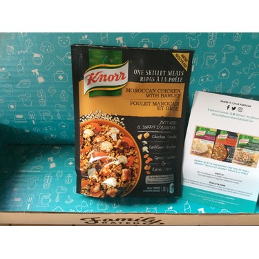 Knorr One Skillet Meals in Moroccan Chicken with Barley