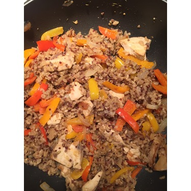 Knorr One Skillet Meals in Steak & Peppers Brown Rice and Quinoa