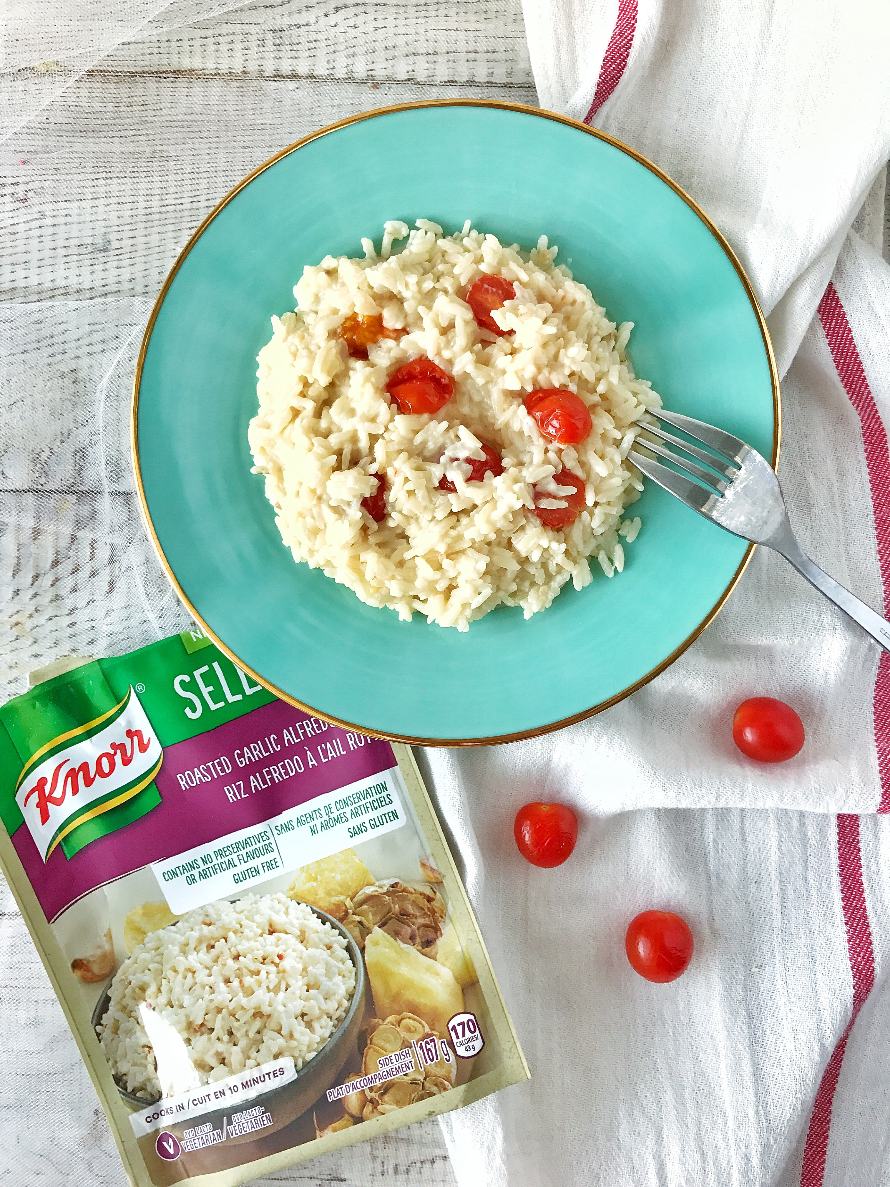 Knorr Selects Roasted Garlic Alfredo Rice Reviews In
