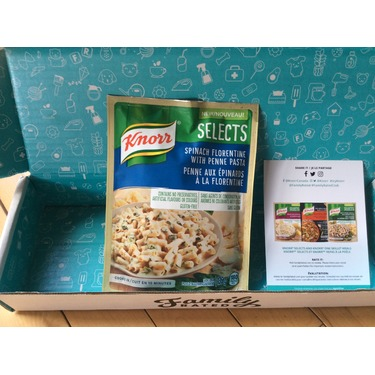 Knorr Selects Spinach Florentine with Penne Pasta