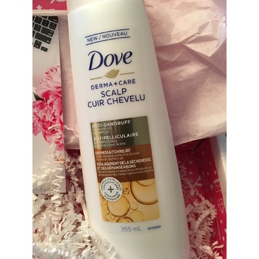 Dove Derma+Care Scalp Dryness & Itch Relief Anti-Dandruff Shampoo