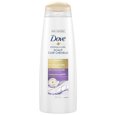 Dove Derma+Care Scalp Smoothing Moisture Anti-Dandruff Shampoo