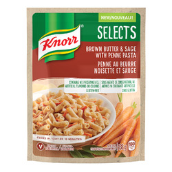 Knorr Selects Brown Butter & Sage with Penne Pasta