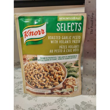 Knorr Selects Roasted Garlic Pesto with Volanti Pasta