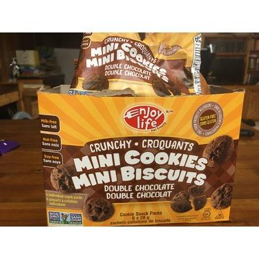 Enjoy Life Crunchy Double Chocolate Mini Cookies