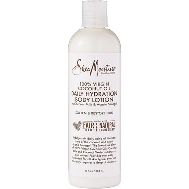 Shea moisture 100% virgin coconut oil daily hydration body lotion