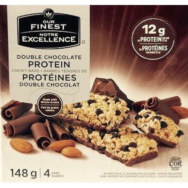 Our Finest Double Chocolate Protein Chewy Bar