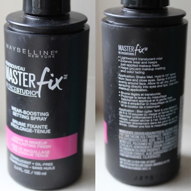 Maybelline New York Master Fix by Face Studio Wear-Boosting Setting Spray