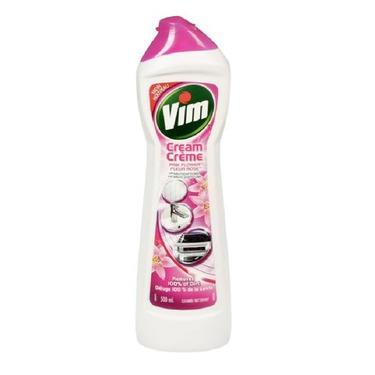 Vim Cream Cleaner in Pink Flower