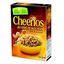 Cheerios au miel et aux noix