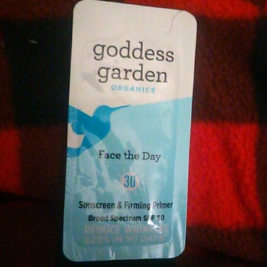 Goddess Garden Face The Day Sunscreen Primer Reviews In Face Primer Chickadvisor
