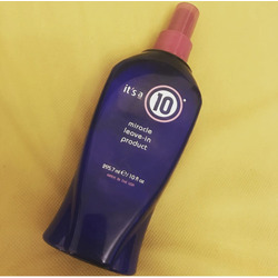 It's a ten leave in hair product