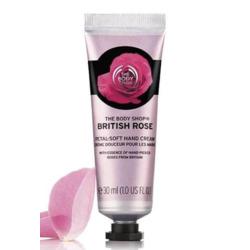 The Body Shop British Rose Petal-Soft Hand Cream