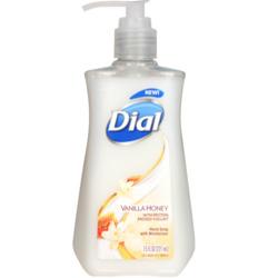 dial vanilla honey hand soap