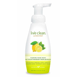 Live Clean Lemon Mint Foaming Hand Wash