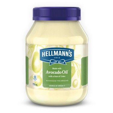 Hellmann's with Avocado and a hint of Lime