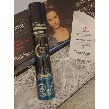 TRESemmé Texture Compressed Micro Mist Hair Spray Hold Level 1