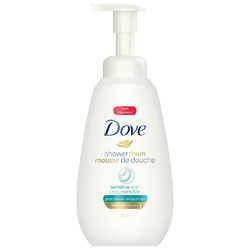 Dove Shower Foam Sensitive Skin