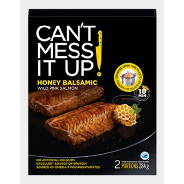 Can't Mess It Up Honey Balsamic Wild Pink Salmon