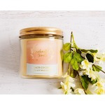 Enchanted scents  peach coconut ring reveal candle