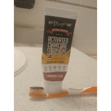 MY MAGIC MUD; WHITENING TOOTHPASTE