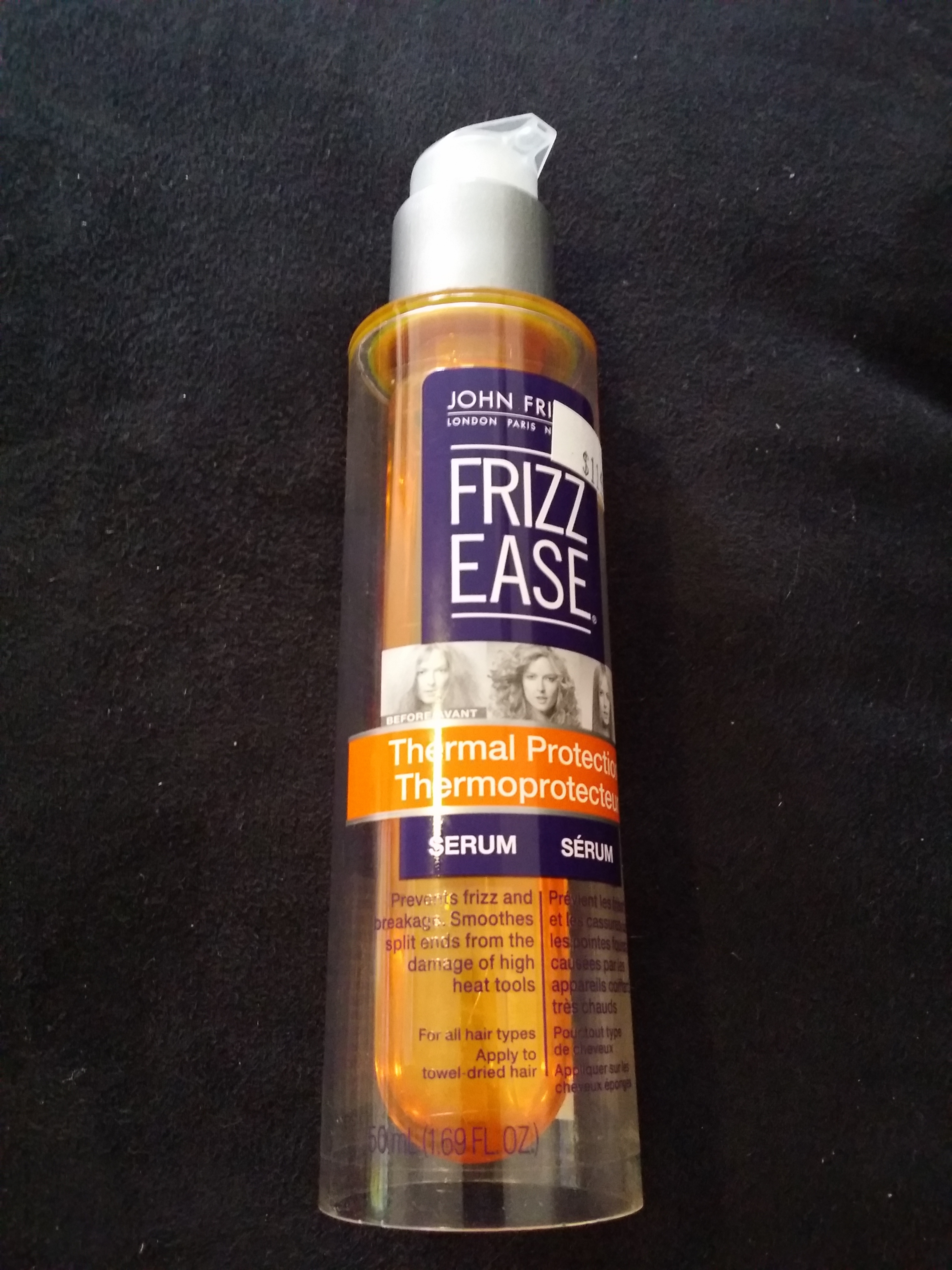 John Frieda Frizz Ease Thermal Protection Serum Reviews In