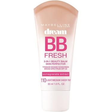 The maybelline dream BB cream
