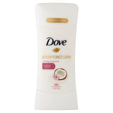 Dove Advanced Care Caring Coconut Antiperspirant Stick