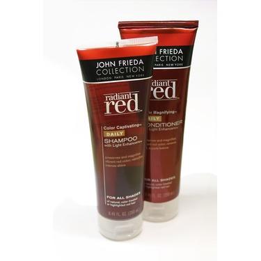 John Frieda Radiant Red Colour Captivating Shampoo