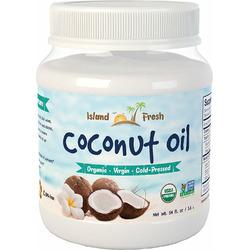 Island Fresh SUPERIOR Organic Extra Virgin Coconut Oil