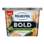 Philadelphia Bold Jalapeno and Cheddar