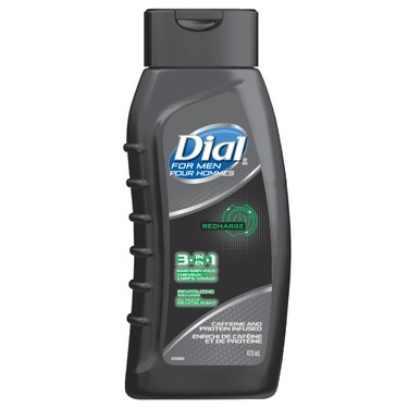 Dial For Men Recharge 3-in-1 Revitalizing Body Wash