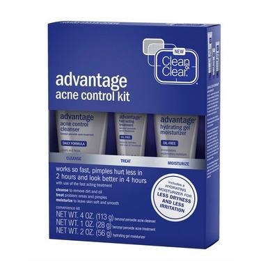 CLEAN & CLEAR ADVANTAGE® Acne Control Kit