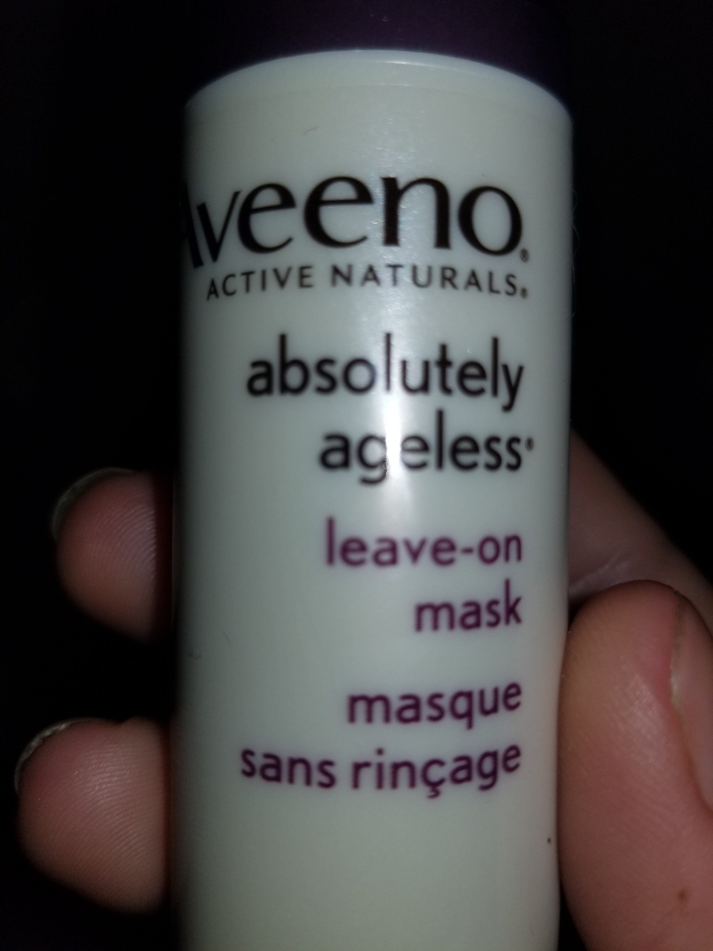 AVEENO Absolutely Ageless Leave-on Mask reviews in Face Masks ...