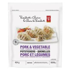 PC Pork & Vegetable Potstickers Dumplings