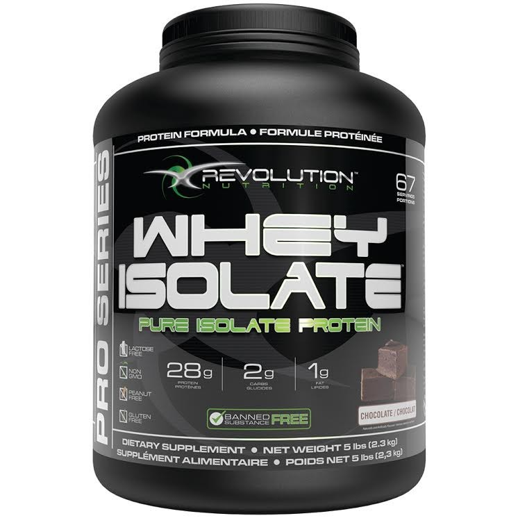 Revolution Nutrition Whey Isolate Protein Powder Chocolate