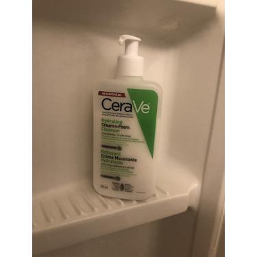 Cera ve foaming face wash