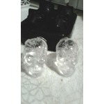Rosegal silicon skull ice cube trays