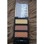 NYC – New York Color HD Trio Eye Shadow Palette – Streets Paved in Gold