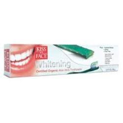 Kiss My Face Organic Whitening Aloe Vera Toothpaste
